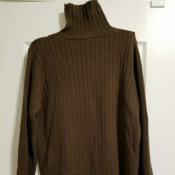 Old Navy Sweaters Mens Brown Turtleneck Sweater Poshmark